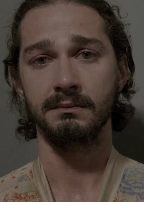 shia labeouf from sigur ros new video.  those eyes make me so sad.