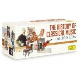 A History Of Classical Music Various Artists CD 100 Disc Set