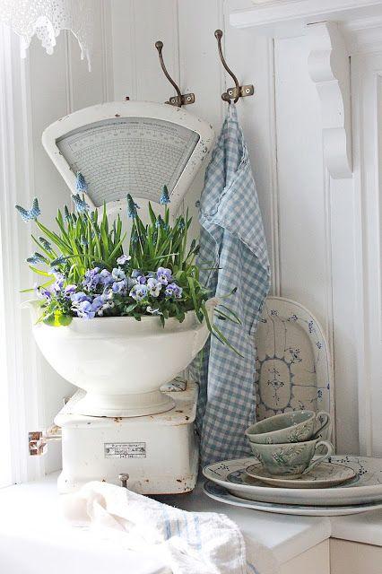 VIBEKE DESIGN: Spring and blue!