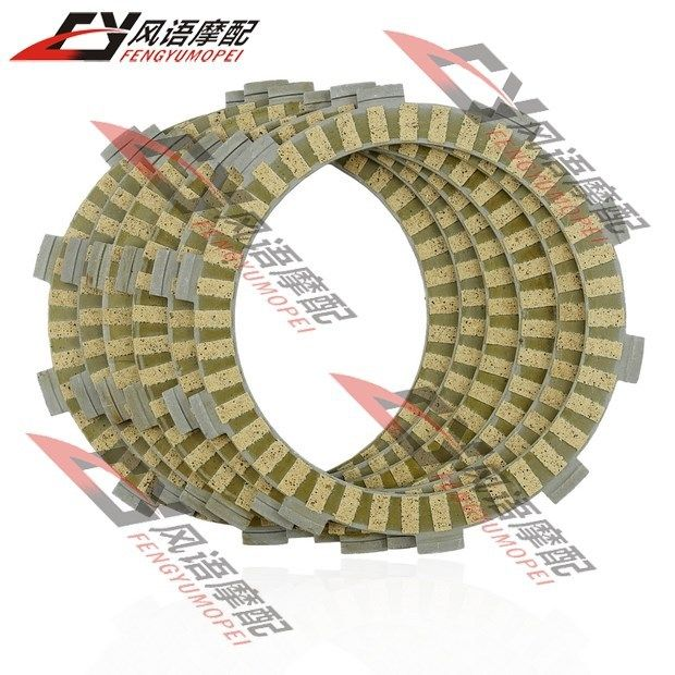 Free Shipping For Honda CBR900 VFR750 / VFR800 Motorcycle CLUTCH friction PLATES 6PC Motorcycle Accessories