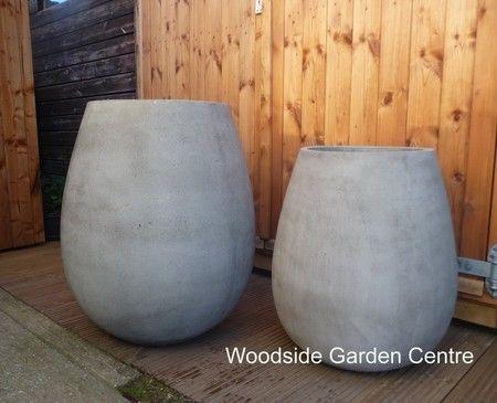 Great Riverstone Lightweight Tall Planter Garden Pot | Woodside Garden Centre |  Pots To Inspire