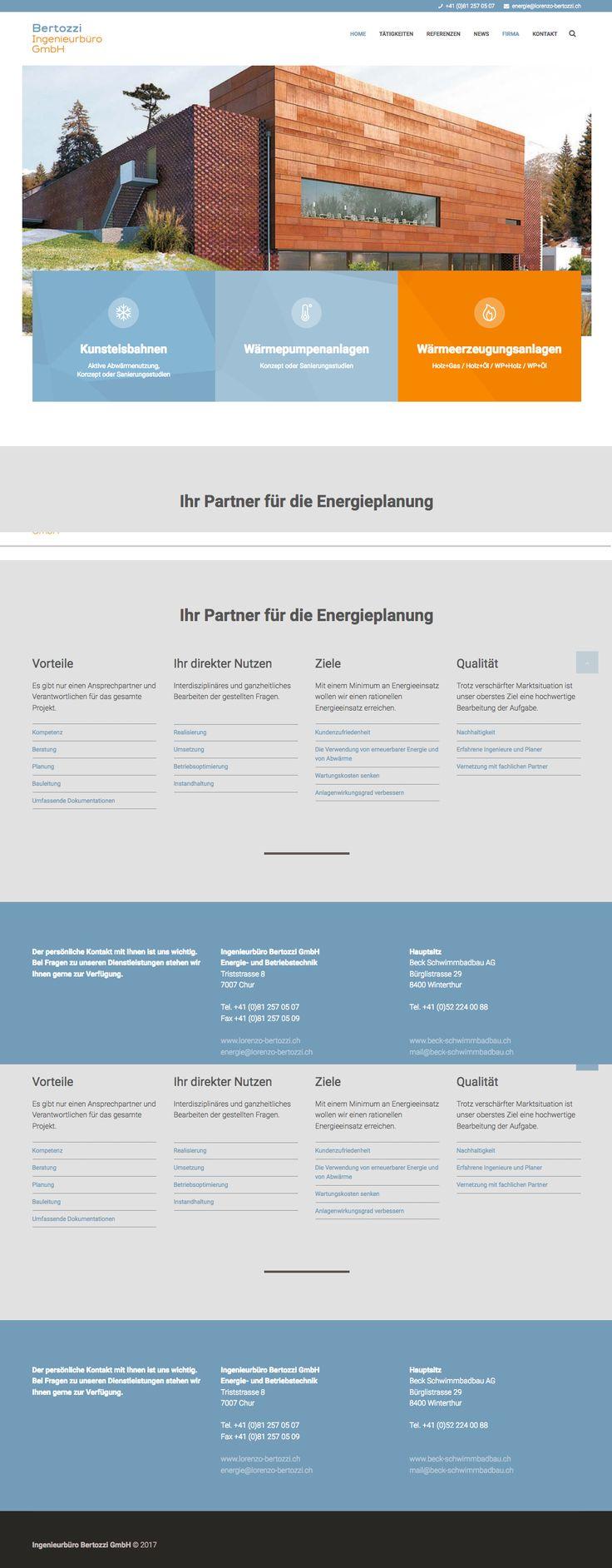 Kunde: Bertozzi GmbH | Branche: Industrie | Werbemittel: Responsive-Website | Erscheinung: einmalig | Umfang: Design, Content und Umsetzung