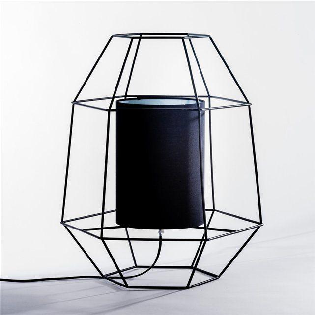 Lampe à poser Machomba AM.PM : prix, avis & notation, livraison. On aime la structure filaire, graphique et actuelle de cette lampe à poser. En métal. Abat-jour coton. Douille E27, ampoule 15W maxi. Compatible avec des ampoules des classes énergétiques A. Taille 1 : H.35 cm. Taille 2 : H.50 cm.