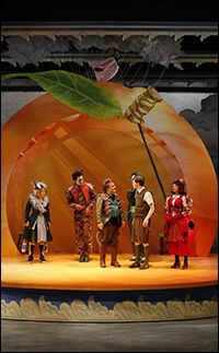 Set James and the Giant Peach