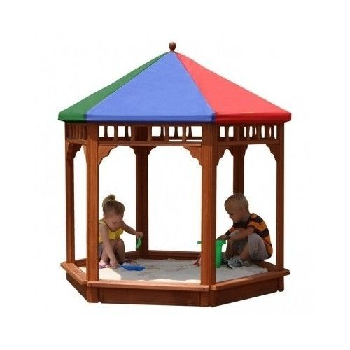 Outdoor-Kids-Sandbox-With-Cover-Wooden-Canopy-Tent-Covered-Large-5-039-Children-Box