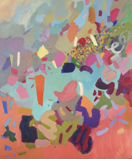 Cathy Layzell South African Colourist, abstract artist, painter Cape Town