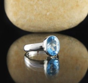 Blue Topaz Ring $85
