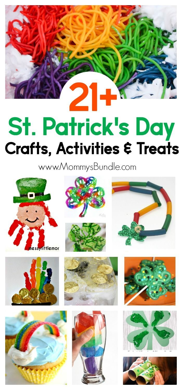 March crafts for kindergarten - 21 St Patrick S Day Crafts Activities And Treats For Kids