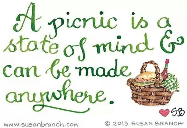 Pin By Sue Holte On Summer Picnic Picnic Quotes Branch Art Picnic