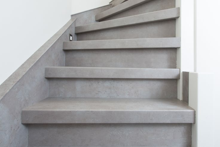 Beton grijs, de nieuwe trend in traprenovatie - Stairz Trap Renovatie - de specialist in trap renovatie
