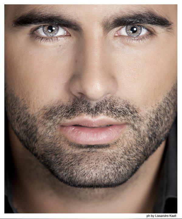 Men with grey eyes
