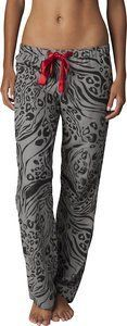 FOX RACING COMEBACK WOMANS PAJAMA PANT HEATHER GRAPHITE SM by Fox Casuals. $24.75. All over Print Poly satin drawcord Fox logo screen at back