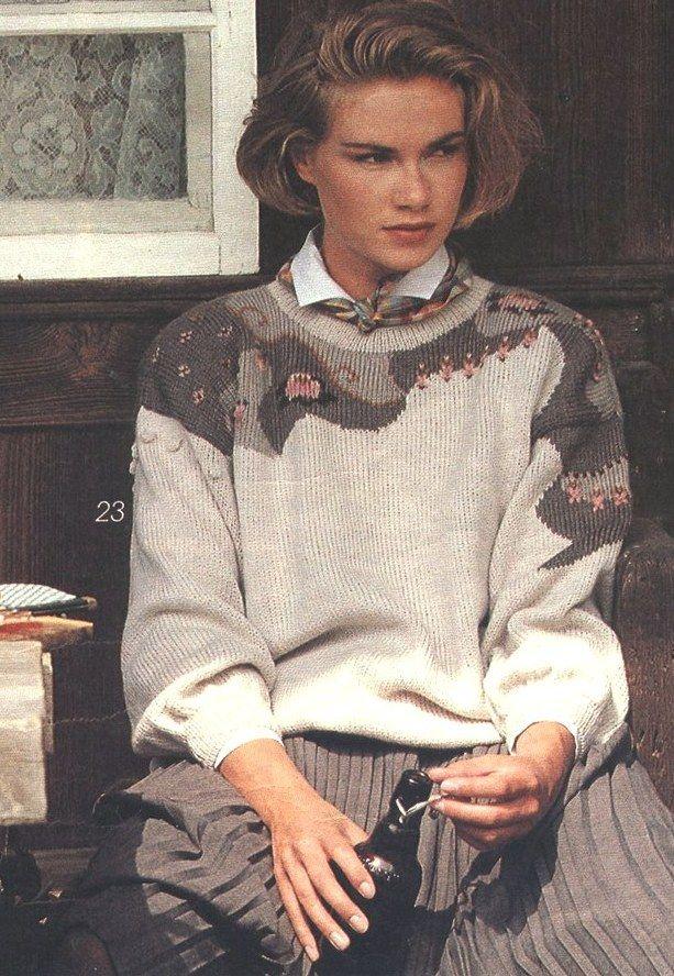 ru_knitting: О старых журналах и новом взгляде.