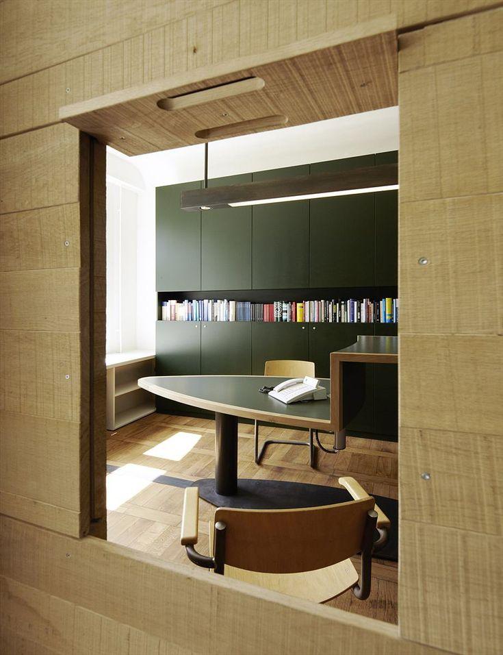 Büro design holz  17 besten Modern Jung von Matt Office by Stephen Williams ...