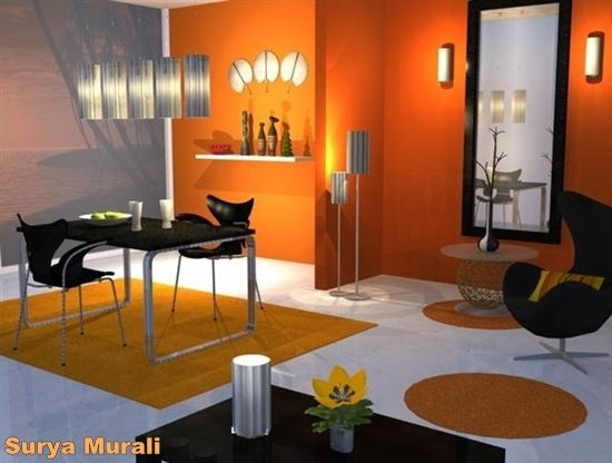 Modern Dining Room Color Schemes