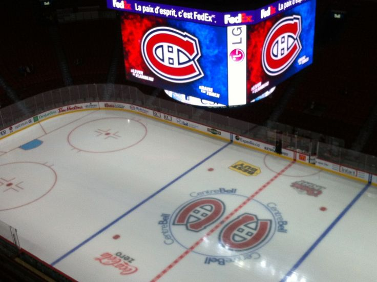 Go Habs! Centre Bell in Montreal, QC
