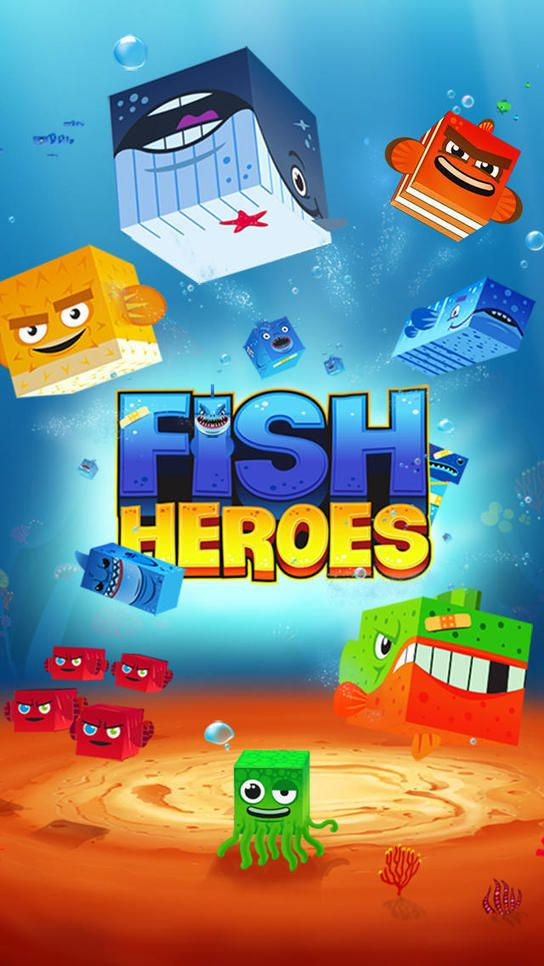 iPhone Giveaway of the Day - Fish Heroes | Freakinthecage Webdesign Stuttgart - Der Blog