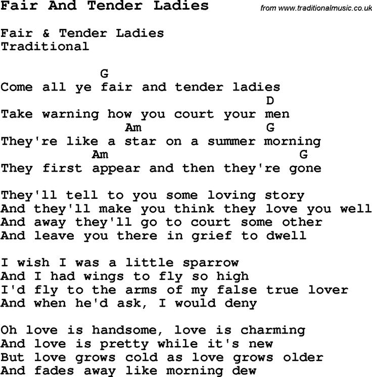 Lyric handsome molly lyrics : Traditional Song Yellow Rose Of Texas with Chords, Tabs and Lyrics ...