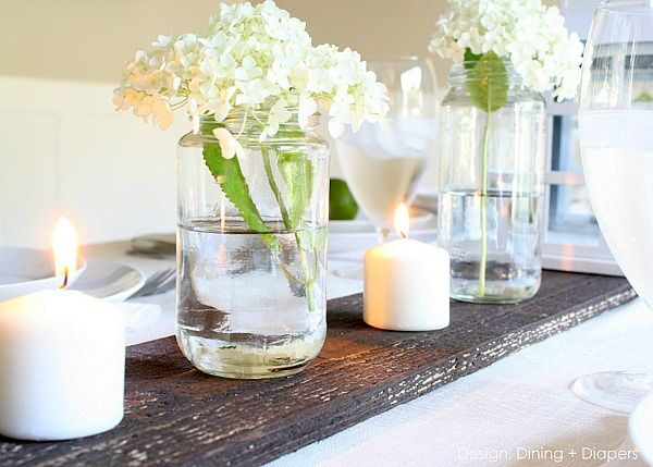 Rustic Summer Tablescape via @Taryn H {Design, Dining + Diapers}