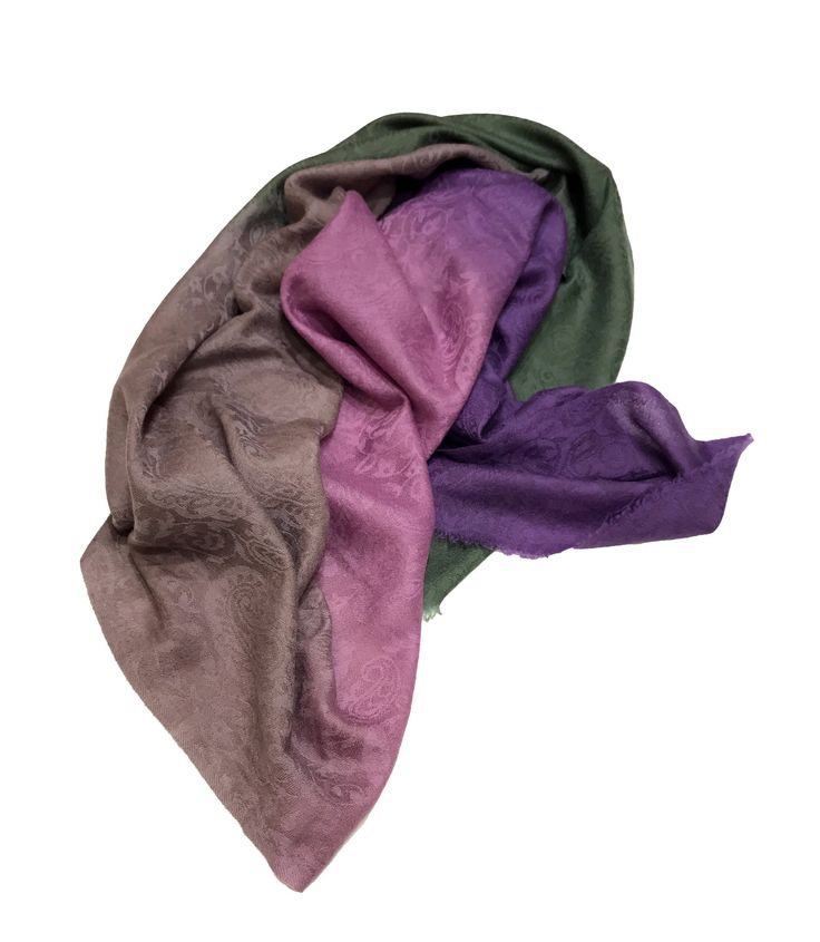 Ombre Dyed Pure Pashmina Shawl with self design, Pure Cashmere Shawl, Stole, Wrap, Scarf by AngadCreations on Etsy #pure #pashmina #cashmere #ombre #dyed #pink #purple #green #beige #kashmiri #ombré #natural #Kashmir #multi #colour #shawl #stole #orni #india #wrap #scarf #indian #traditional #ethnic #wear #vintage #woman #girl #gift #for #daughter #women #girls #designer #self #design