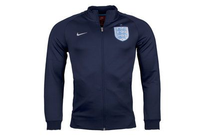 Nike England 17/18 N98 Authentic Track Football Jacket With the Three Lions on your chest, show your support in this Nike England 17/18 N98 Authentic Track Football Jacket in Midnight Navy and Metallic Silver.This football jacket perfecrtly shouws off you http://www.MightGet.com/april-2017-2/nike-england-17-18-n98-authentic-track-football-jacket.asp