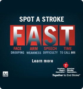 TIA or Stroke = Fear True story of a stroke. Click to read story.