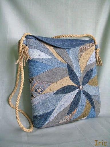 Мобильный LiveInternet Вот такие джинсовые (и не только) сумочки (идеи)   kogewniza - Дневник kogewniza  