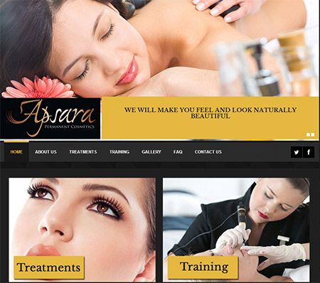 http://apsarapermanentcosmetics.co.uk/ - Permanent cosmetics treatment company located in St. Helens