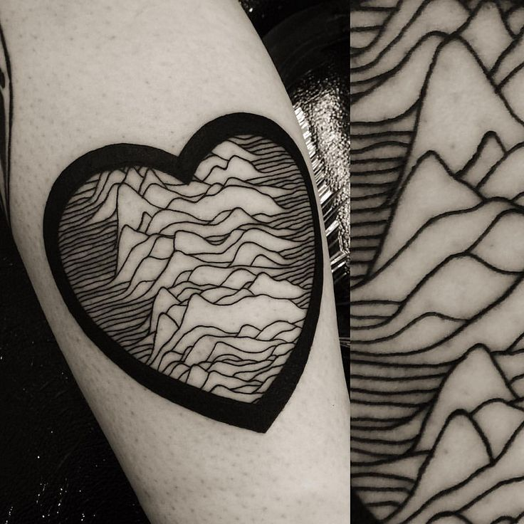 Joy division tattoo to finish the day (at Fourleaf Tattoo)