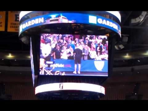 Andre #Agassi Vs Jim #Courier match point and speeches. Champions series #Boston 2011
