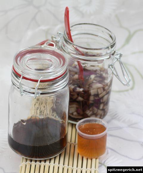 Spitzwegerich Hustensaft / Plantain cough syrup