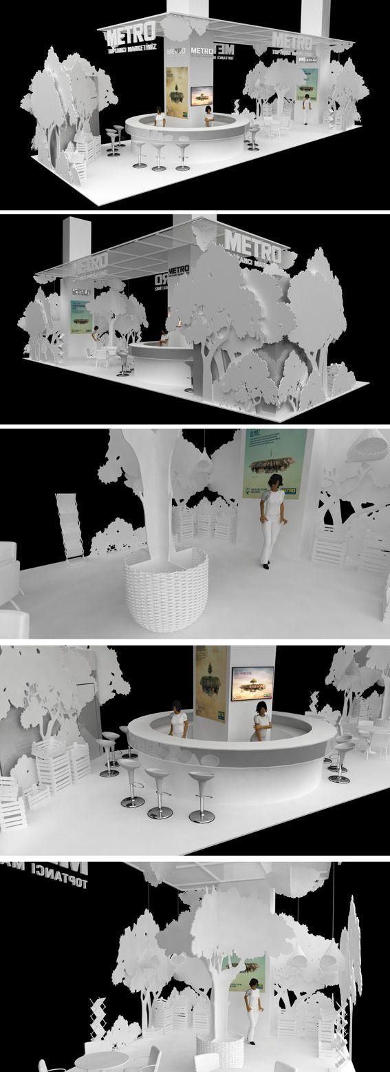Özel Tasarım Fuar Standı Fair stand, exhibition
