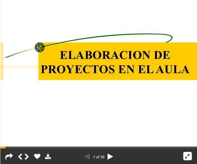 Cómo Formular Proyectos de Aprendizaje en el Aula | #Presentación #Educación