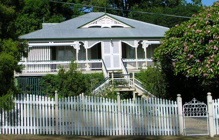 A high-set Victorian era Queenslander with large veranda