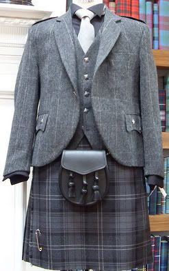 Highland Morning Suit - good choice for vow renewal