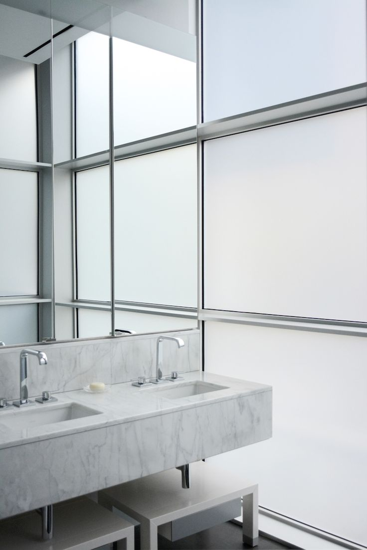 frosted glass, bathroom windows, light & privacy, contemporary bathroom, marble