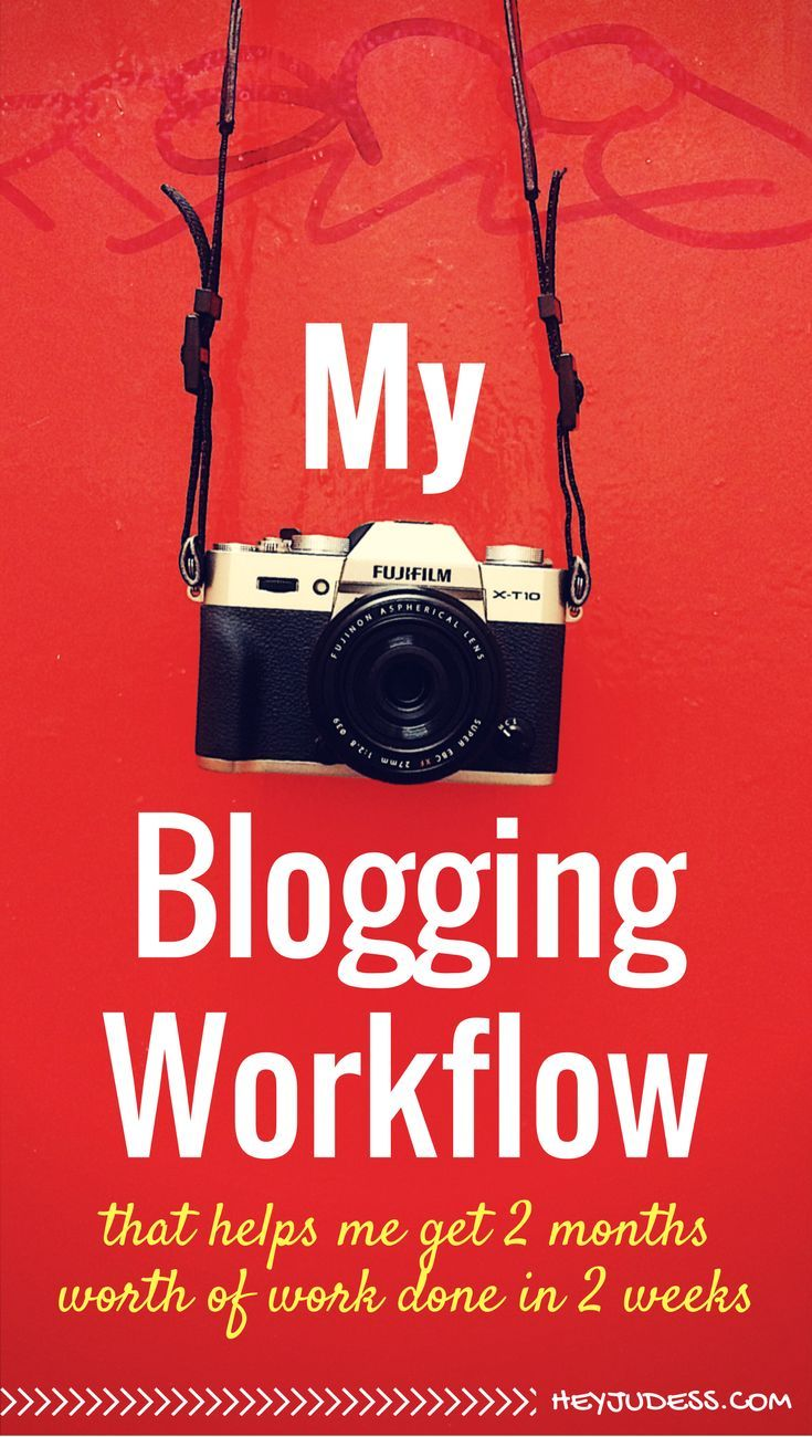 My Blogging Workflow that helps me get two months worth of work done in two weeks!  | Productivity Tips for Bloggers | Blogging Schedule Daily Routines
