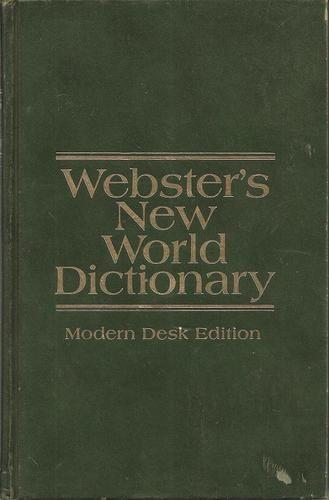 Webster's New World Dictionary Modern Desk Edition - 1971