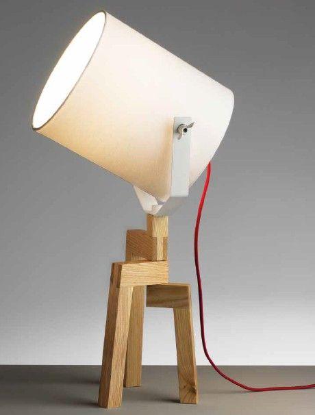 ACANTO LAMPADA DA TAVOLO IN LEGNOLampade da tavolo moderne