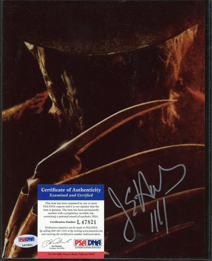 Celebrity Autographs: Jackie Earle Haley Signed 8X10 Photo Psa/Dna Coa Auto Autograph BUY IT NOW ONLY: $29.0