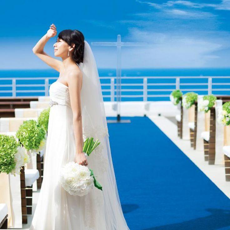 海・空・山に囲まれた洋館、葉山テラス。国内リゾートでの結婚式一覧♡ウェディング・ブライダルの参考に!