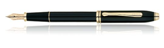 When you need to write something -- or sign an important document -- a fountain pen is the most satisfying tool.  One of the best fountain pens made is the Townsend, by Cross.