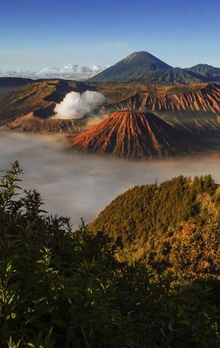 Mount Bromo in Java, Indonesia #volcano #travel