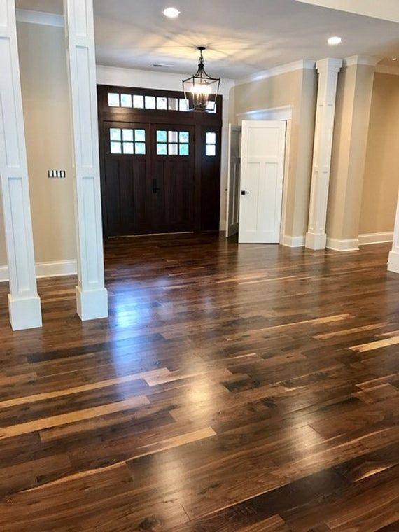 Pre Finished Black Walnut Flooring Black Walnut Flooring Hardwood Floor Colors Walnut Hardwood Flooring
