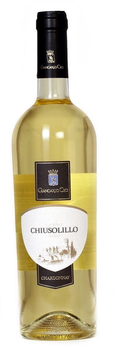 Chiusolillo - Vino Bianco Chardonnay Biologico - Azienda Agricola Giancarlo Ceci
