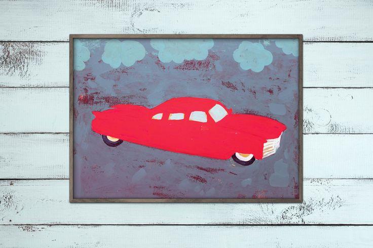 Red Hot Car by Mucki Miau