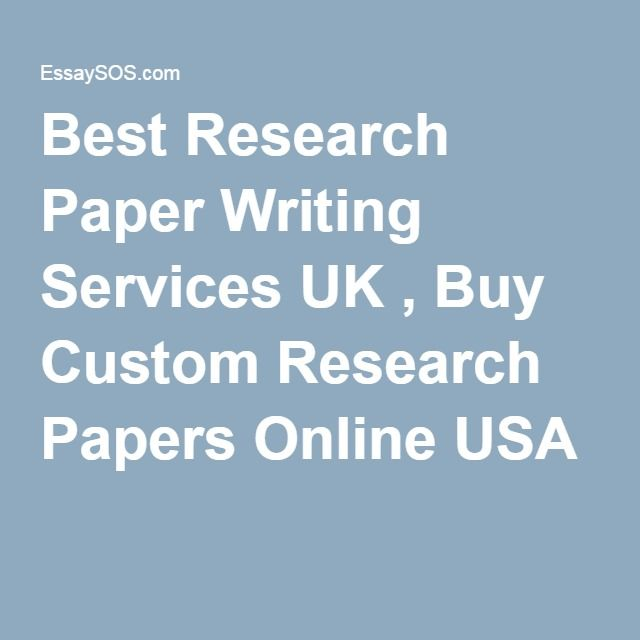 Research Paper Writing Services from Qualified Specialists