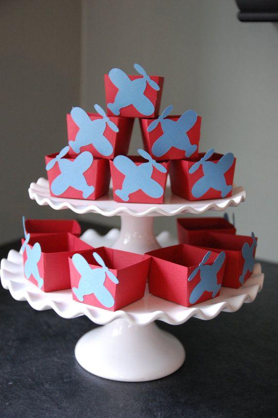 Tazze Candy aereo aeroplano natalizi compleanno di di GiggleBees