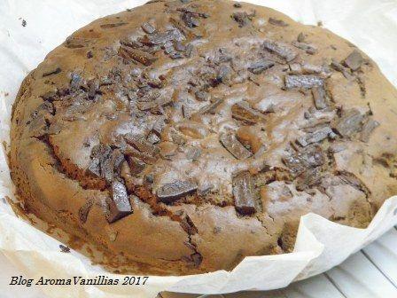Aroma Vanillias: Ταχινό-σοκολατένιο κέικ