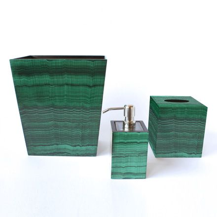 Dransfield ross malachite products i love pinterest for Bathroom decor ross